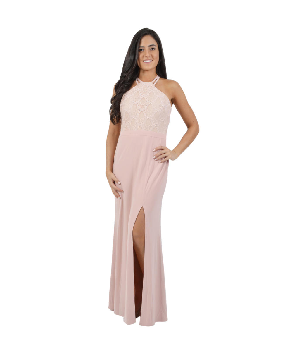 NIGHTWAY - Sequin Lace Sheath Gown
