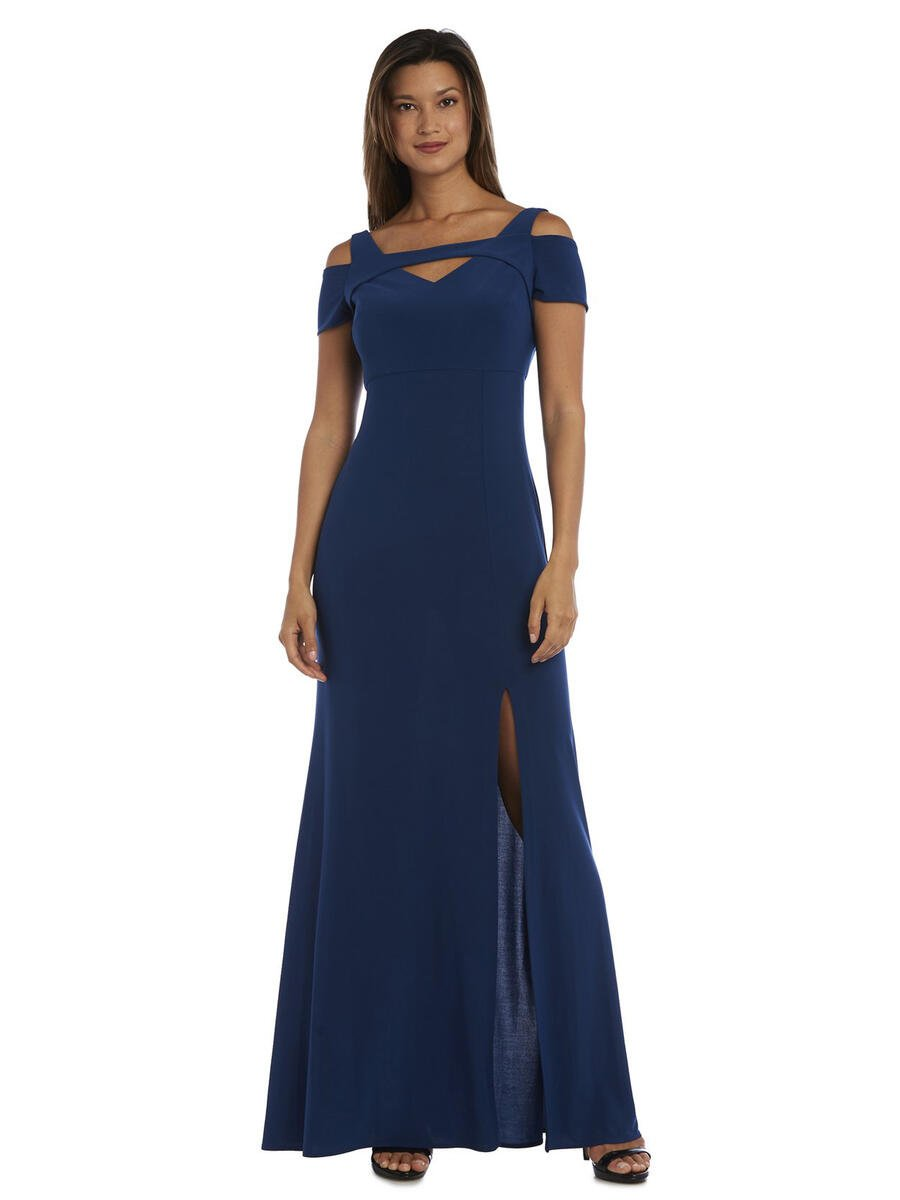 NIGHTWAY - Cold Shoulder Keyhole Gown