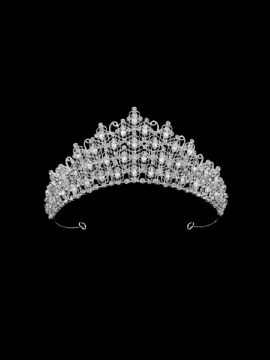 DS BRIDAL    DAE SUNG . - Tiara with Rhinestones