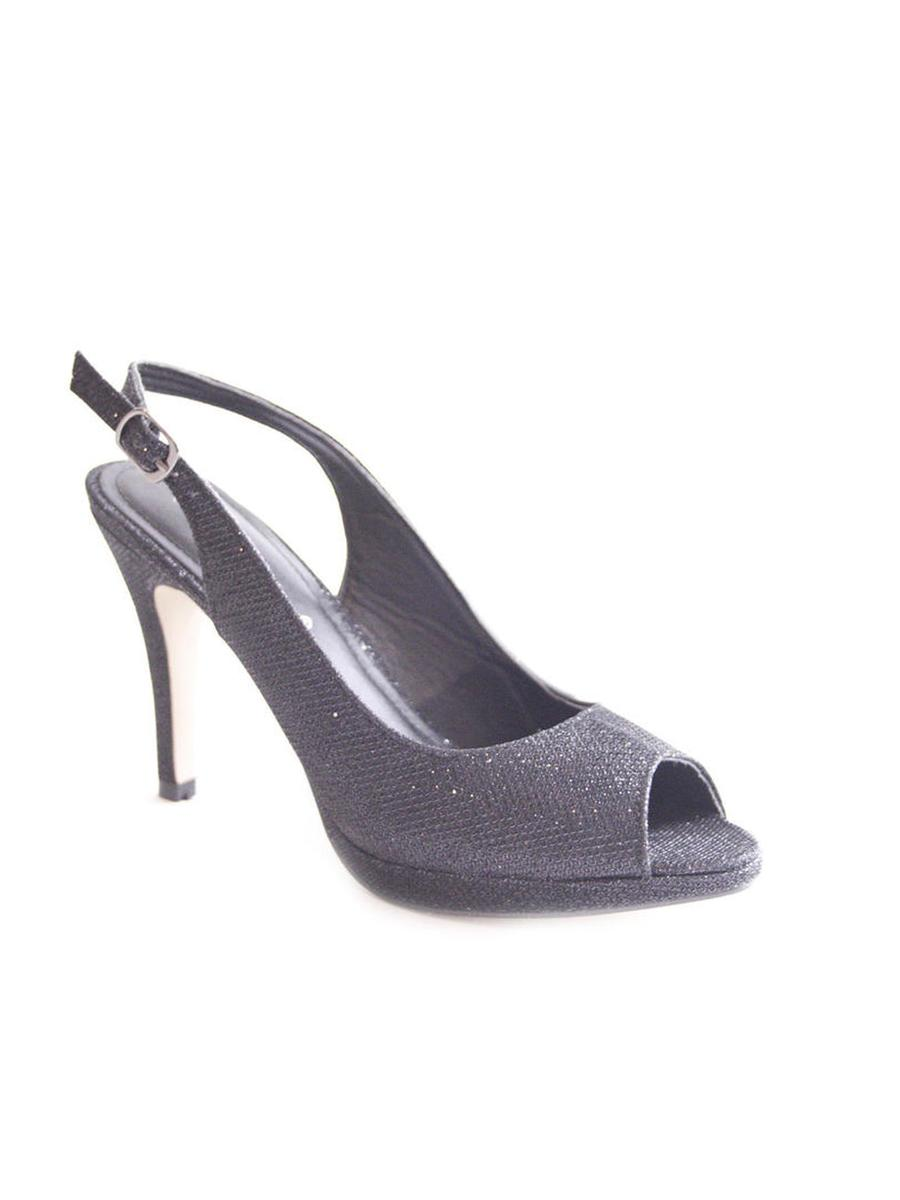 OLEM SHOE, CORP      NANCY/SALES  #207 - Glitter Slingback Peep-Toe Pump