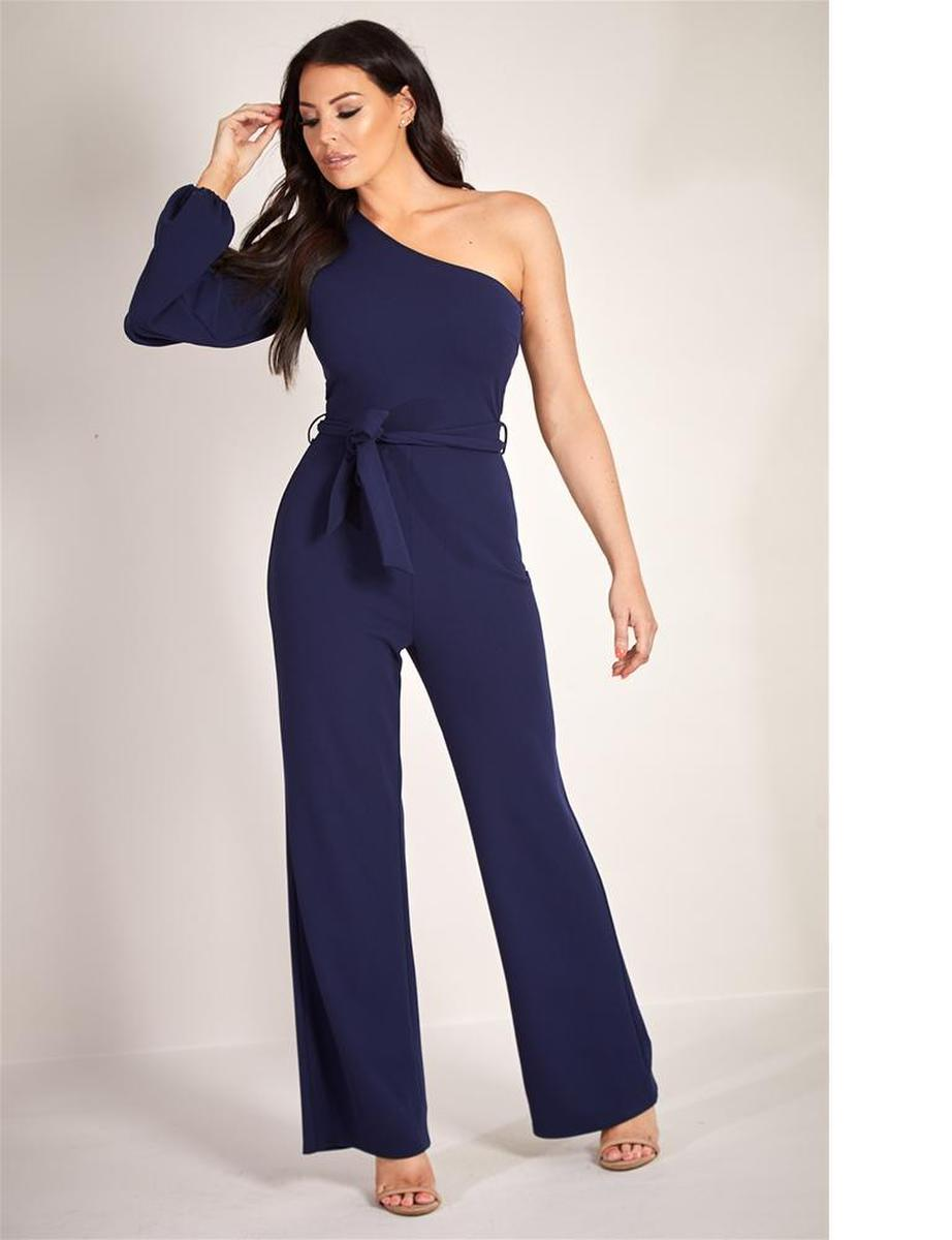 LIPSTICK  LONDON - Jersey Jumpsuit One Sleeve