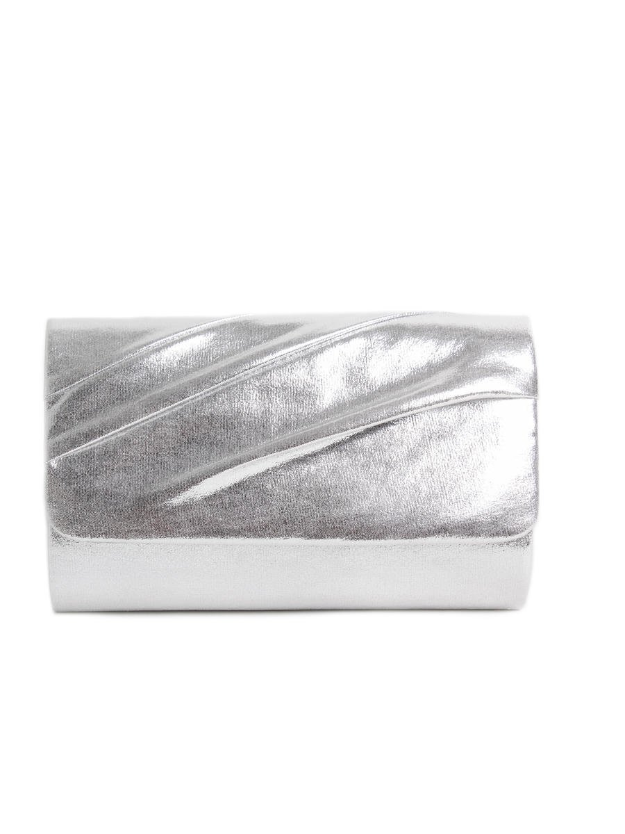 Glitter Metallic Clutch