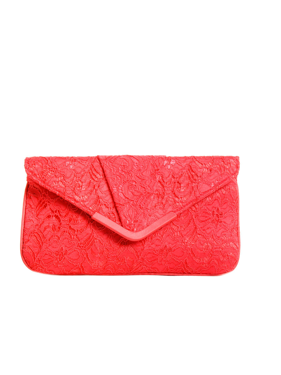 PAN OCEANIC EYEWARE / REGAL - Lace Envelope Wristlet Clutch