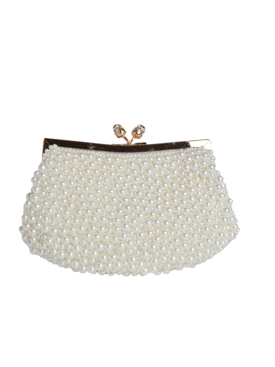 PAN OCEANIC EYEWARE / REGAL - Pearl Cluster Pouch Cluch