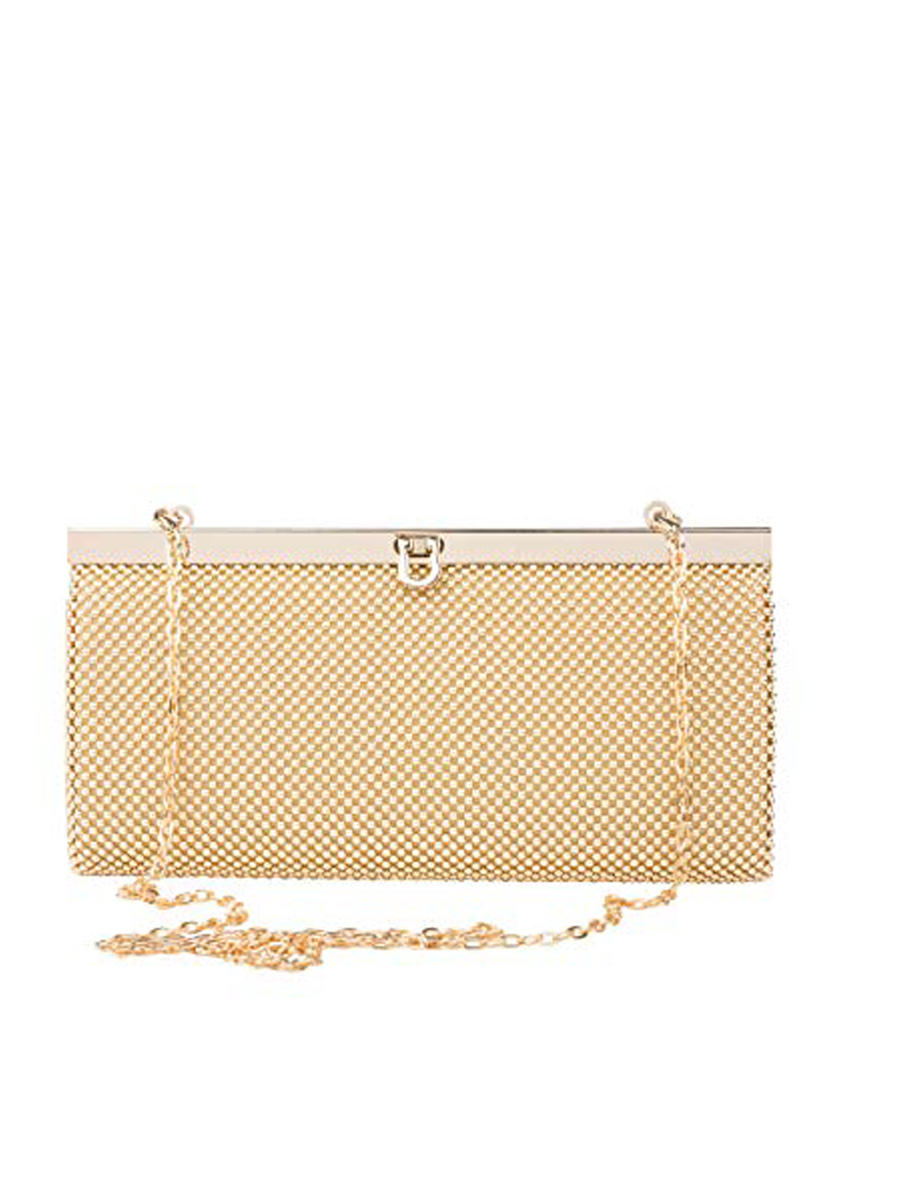 PAN OCEANIC EYEWARE / REGAL - Wallet Aluminum Mesh Clutch