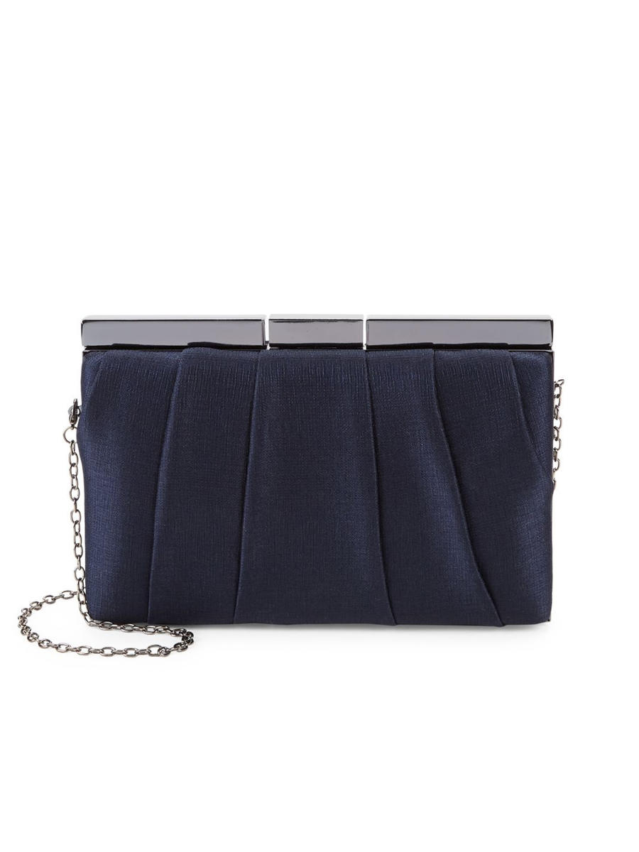 PAN OCEANIC EYEWARE / REGAL - Jacquard Pleated Frame Clutch