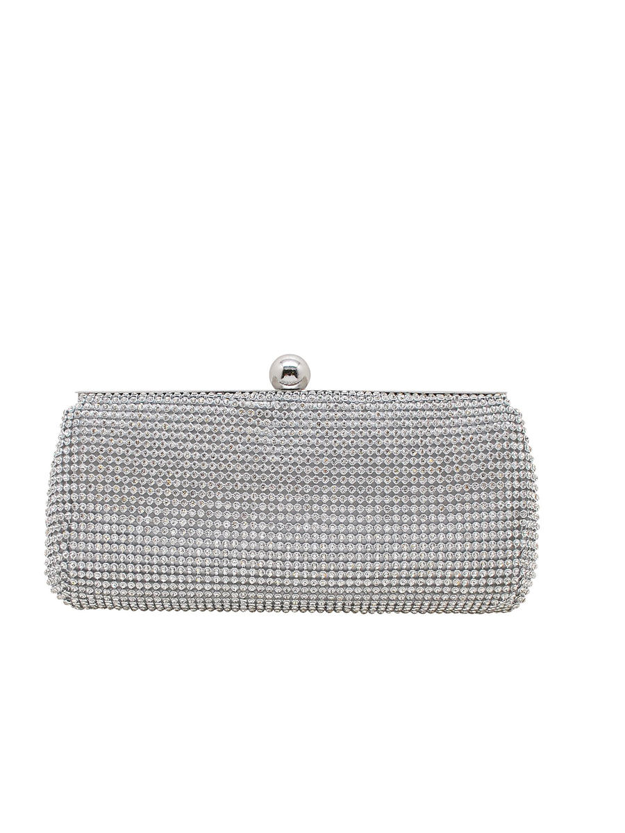 PAN OCEANIC EYEWARE / REGAL - Crystal Mesh Pouch Clutch Evening Bag
