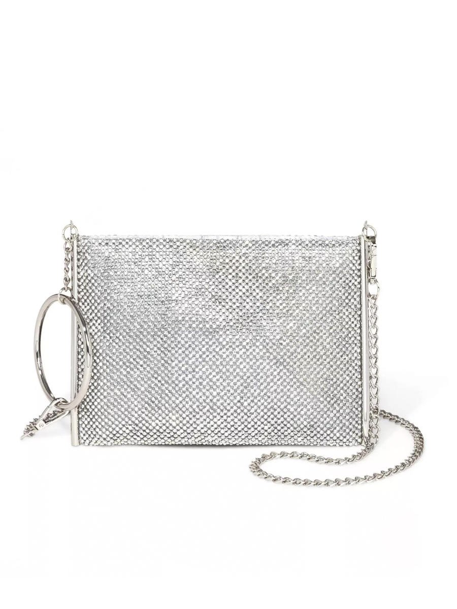 PAN OCEANIC EYEWARE / REGAL - Rhinestone Zipper Top Crossbody
