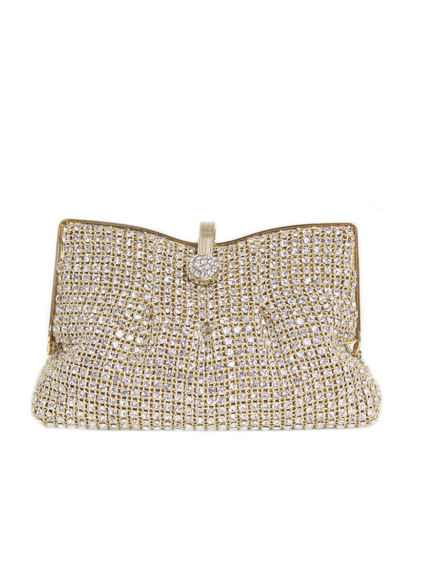 PAN OCEANIC EYEWARE / REGAL - Soft Swarovski Clutch