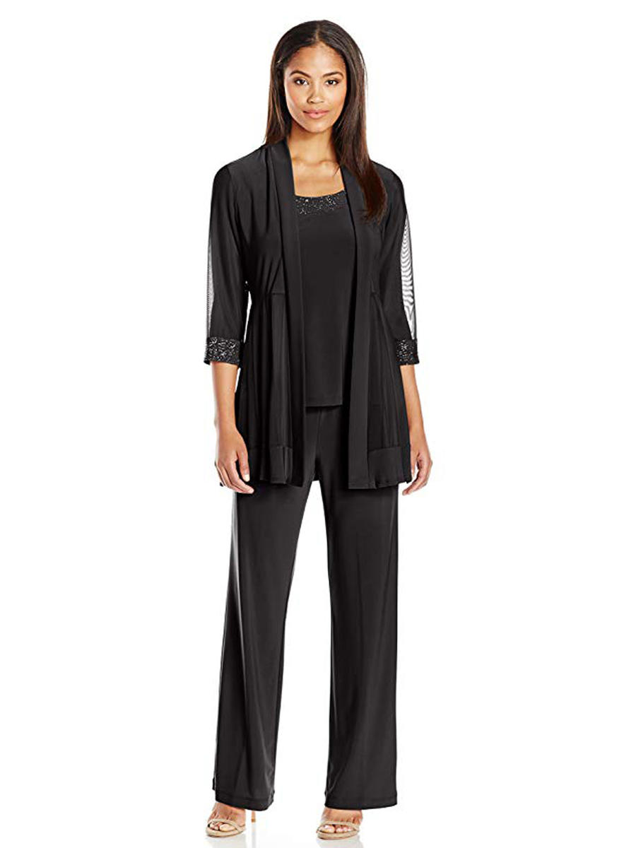 R & M Richards - Three Piece Jersey Pant Set