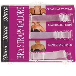BRAZA BRA CORPORATION - STRAP GALORE WIDE