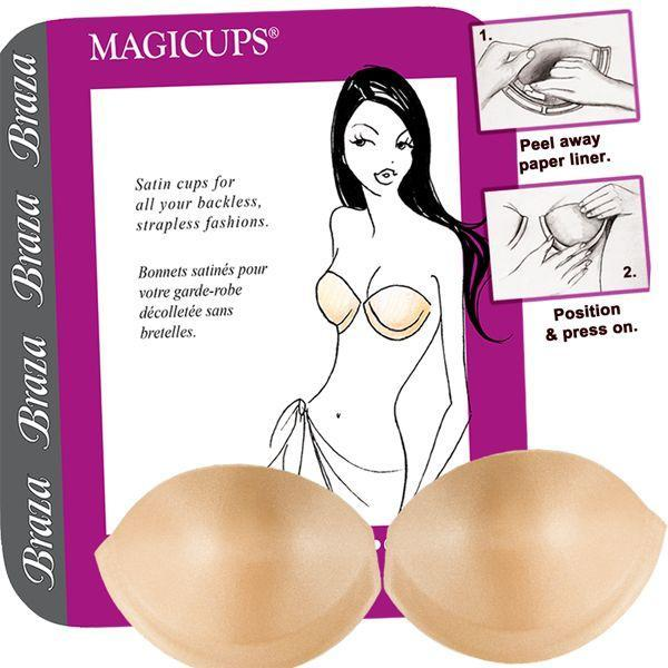 BRAZA BRA CORPORATION - A    MAGICUPS AS STAYCUPS 70001