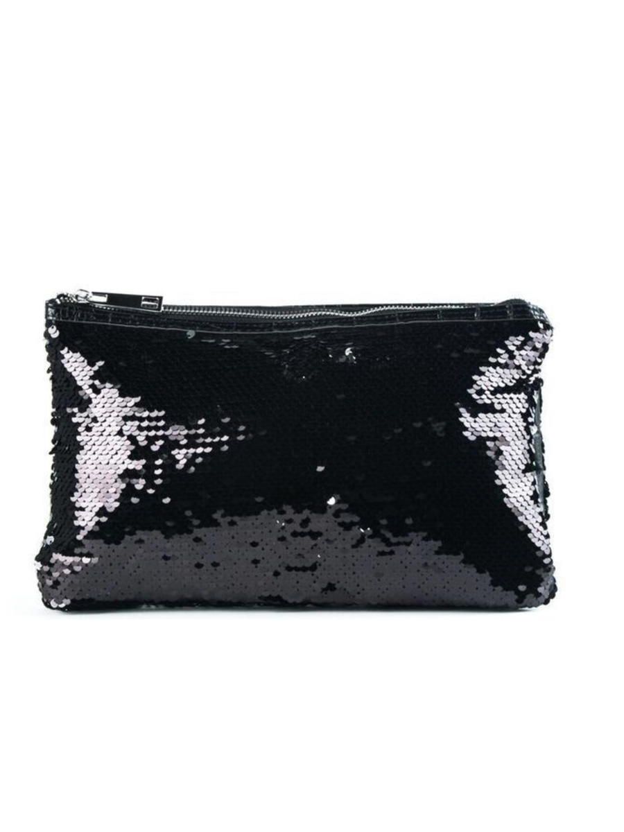 SONDRA ROBERTS/BECARRO INTCORP - Reversible Clutch Double Fabric Combo E3116