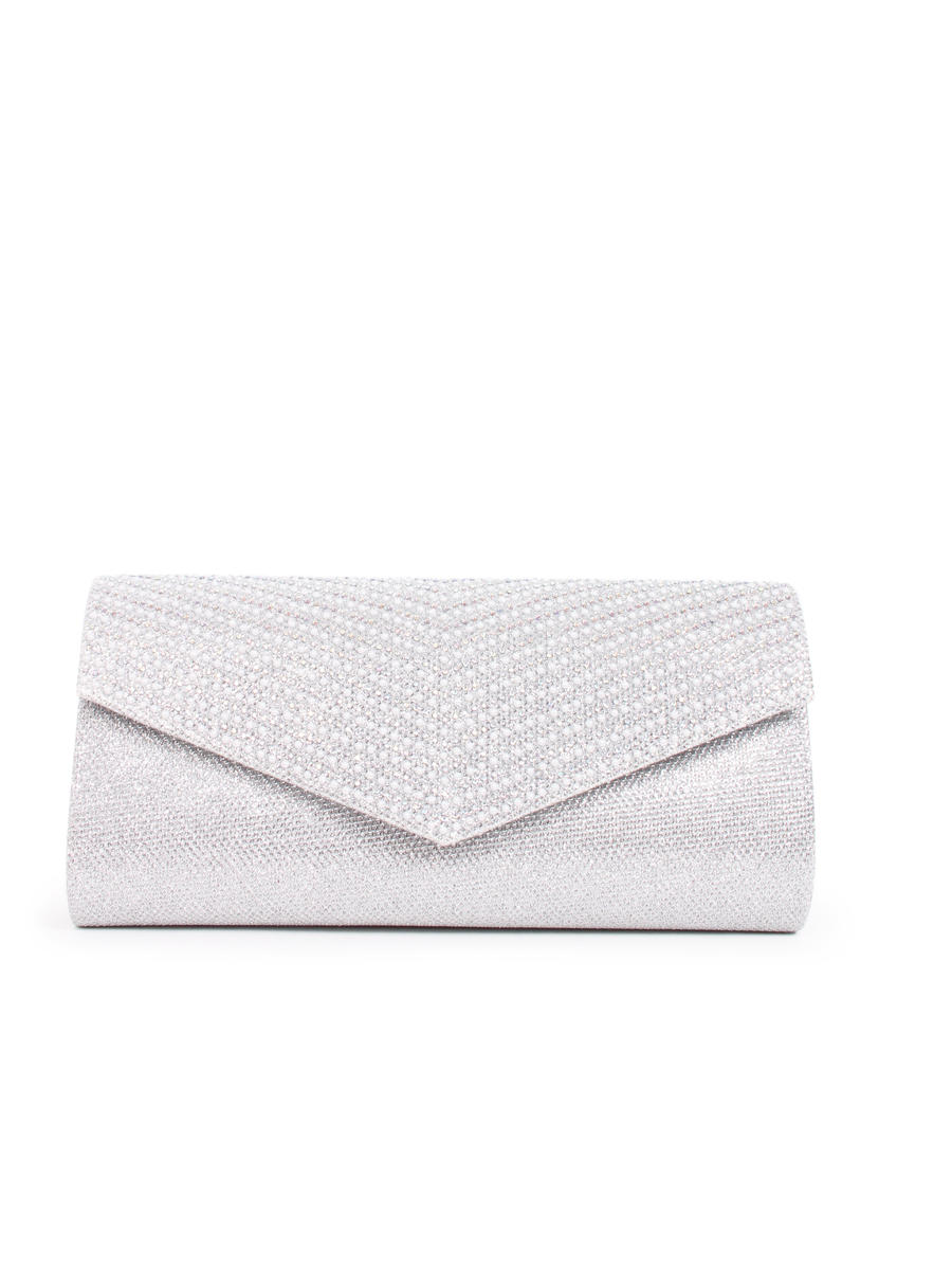SPRINGLAND FOOTWEAR,  INC. - Embellished Glitter Envelope Clutch