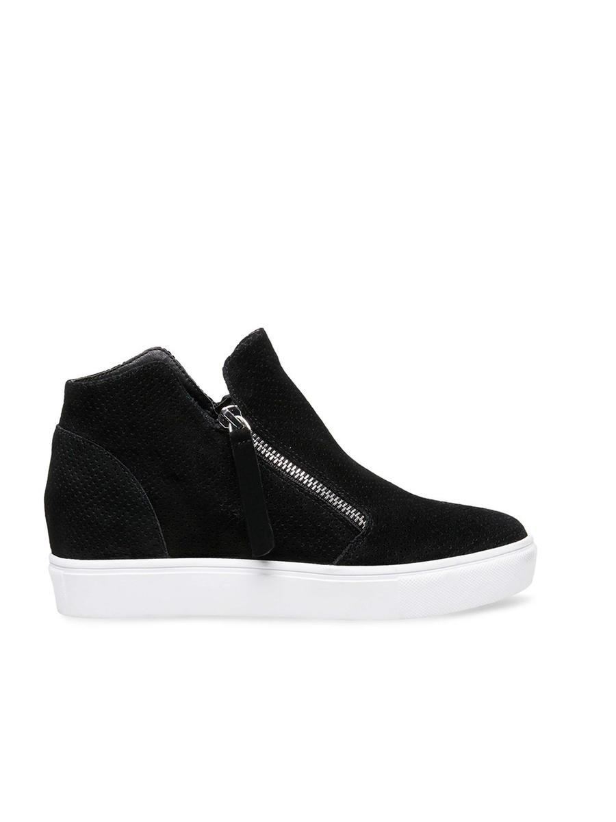 STEVE MADDEN          14TH  FLOORS nyc - Zipper Suede Sneaker