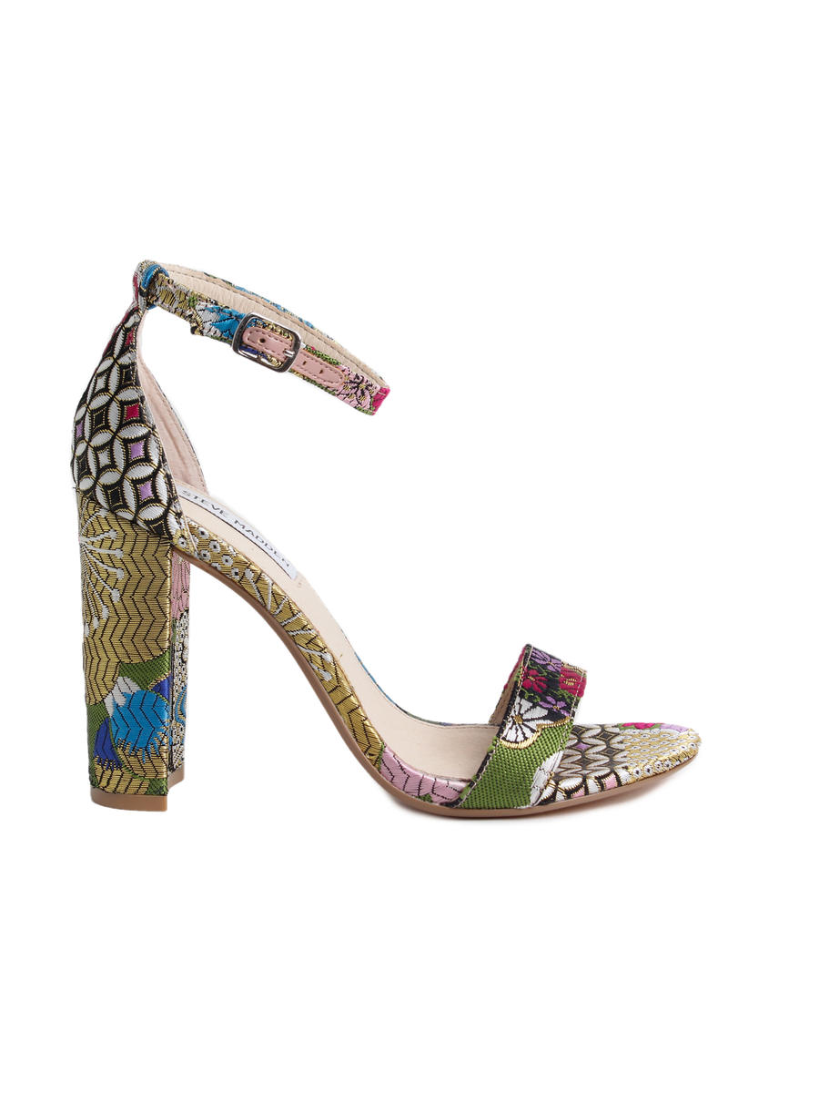 STEVE MADDEN          14TH  FLOORS nyc - High Heel Flower Prints Ankle Strap