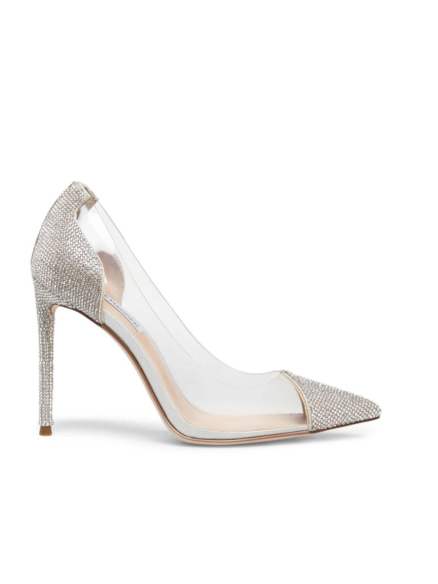 STEVE MADDEN          14TH  FLOORS nyc - High Heel Clear Pointy Pump