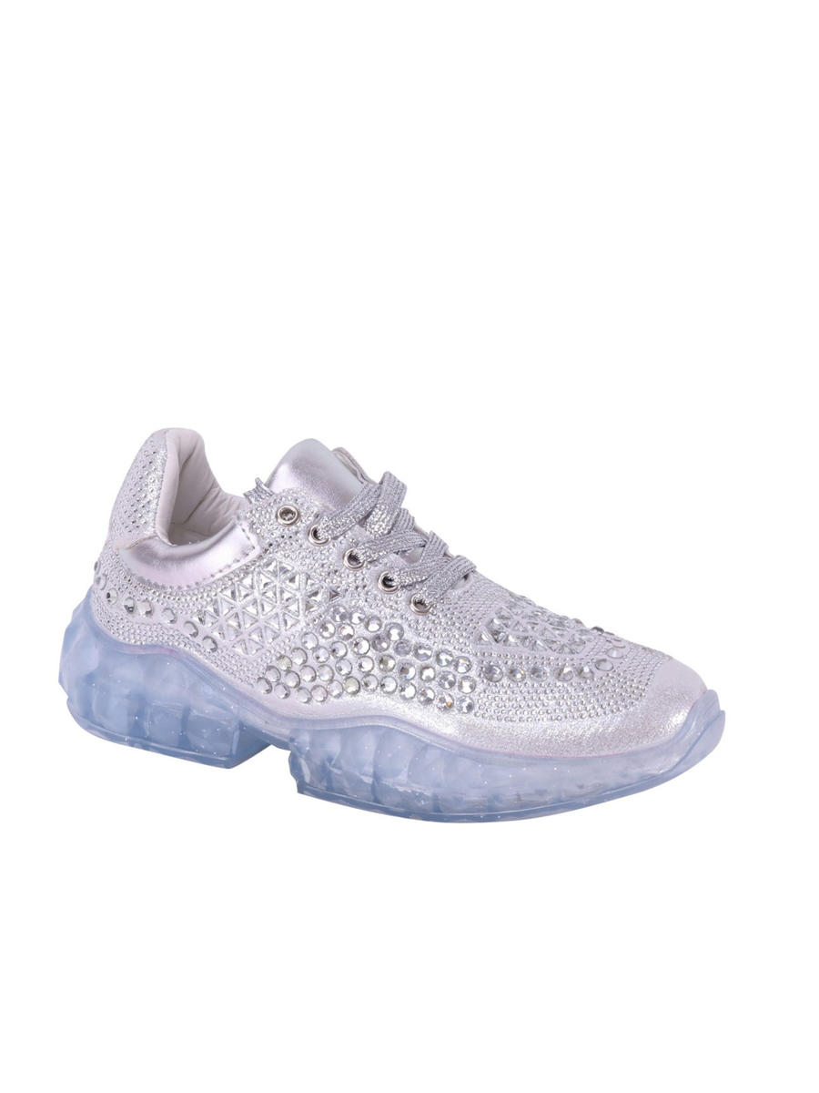 SUMMER RIO          Nancy - Clear Rhinestone Sneaker