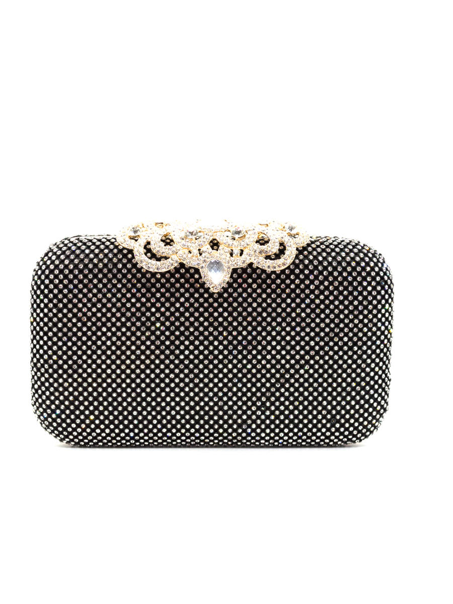 SUSAN SCHERTZ - Clutch All Over Rhinestone Large Clasp