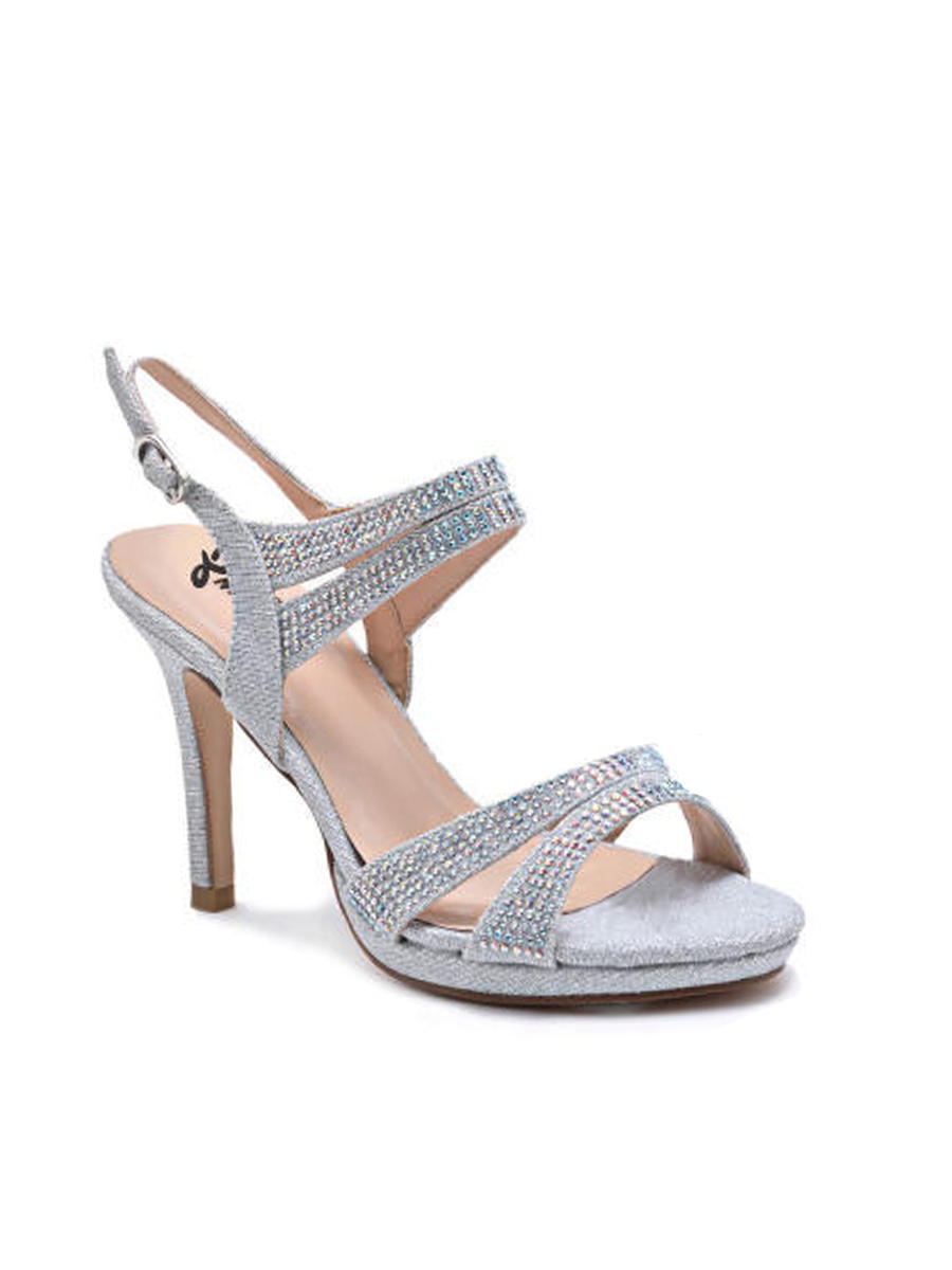 SWEETIES SHOE COLLECTION - Strappy Embellished Slingback Sandal