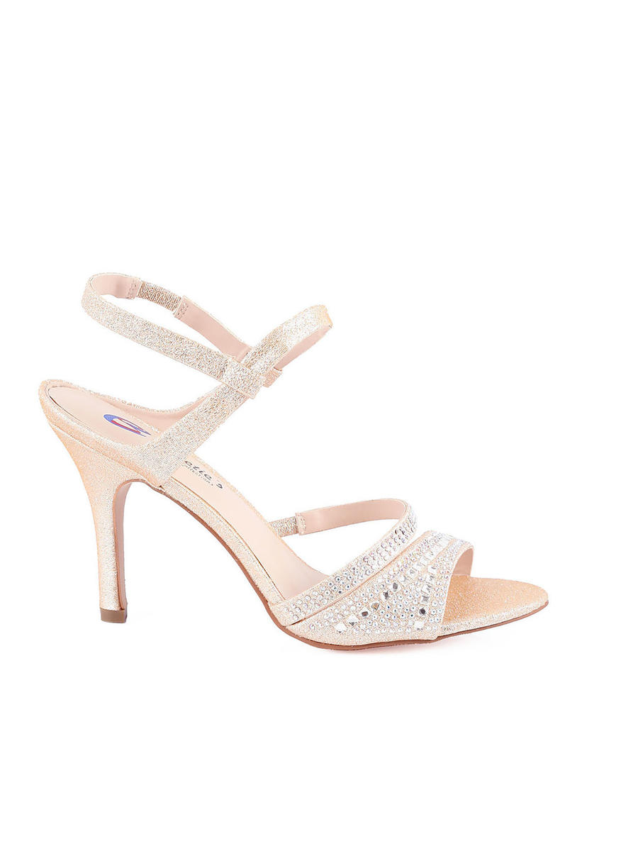 SWEETIES SHOE COLLECTION - Embellished Mid-Heel Sandal