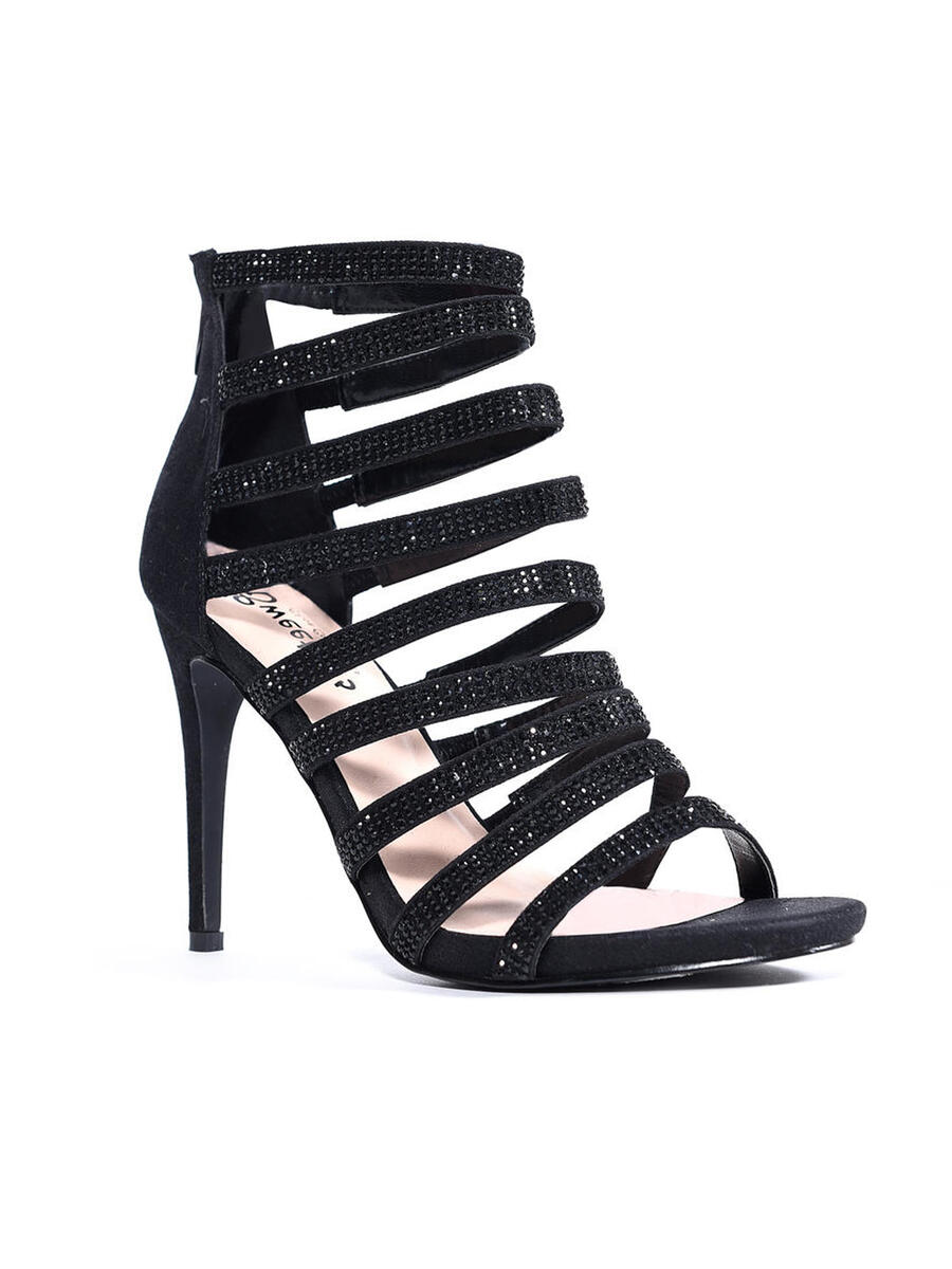 SWEETIES SHOE COLLECTION - Strappy Open Toe Ankle Bootie