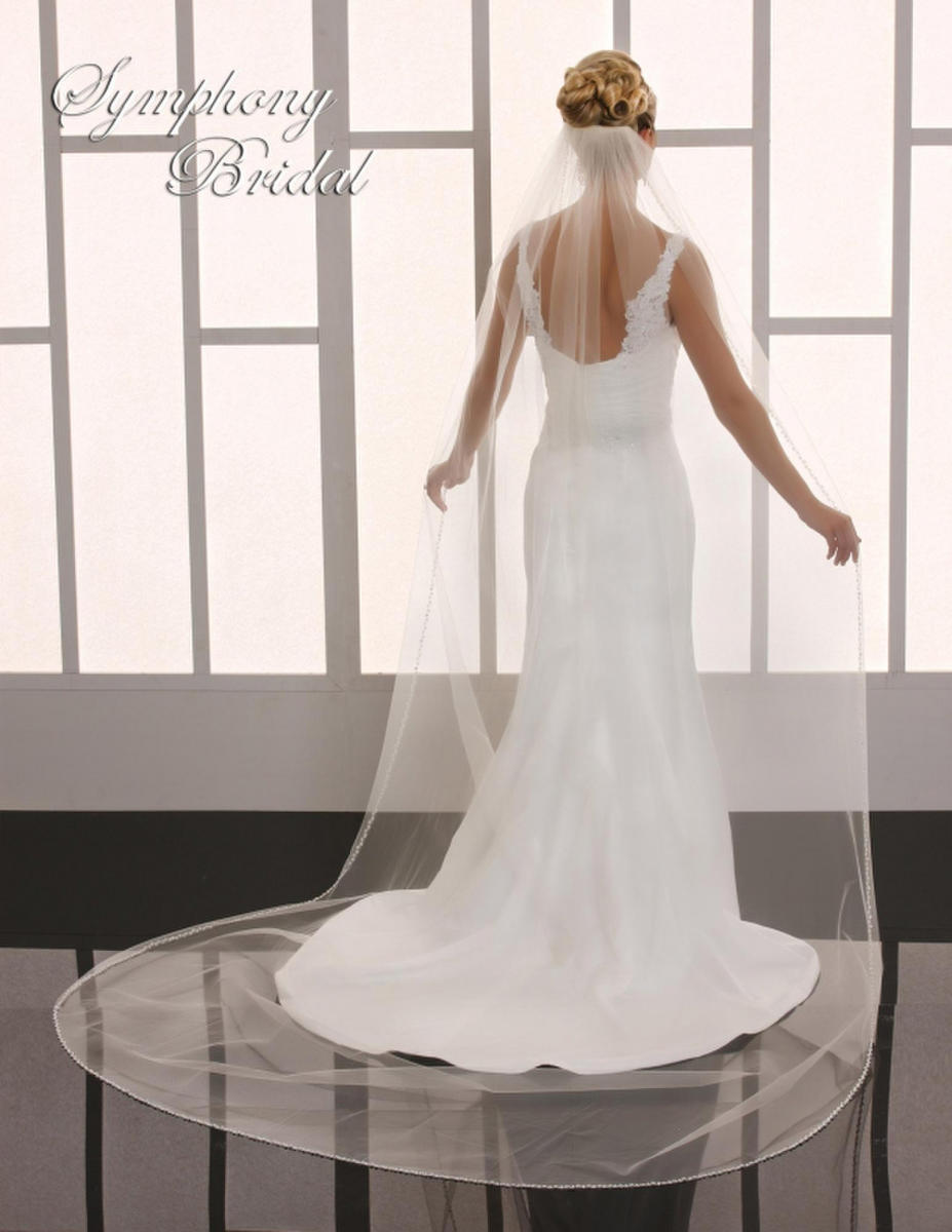 Symphony Bridal - 1-TIER CATHEDRAL W/PRL
