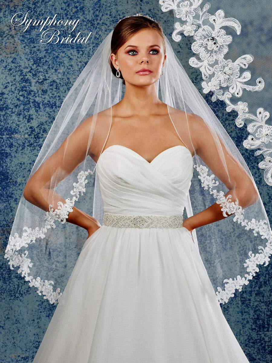 Mystic31,Inc - 1-TIER VEIL W/ROLL