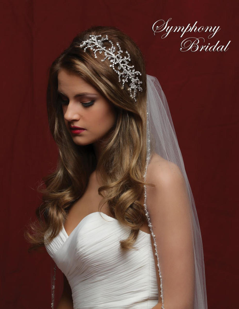 Symphony Bridal - CRYSTAL SPRAY HAIRCLIP
