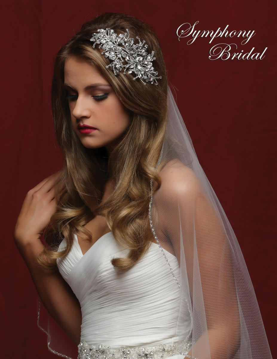 Symphony Bridal - CRYSTAL/RHINESTONE SPRAY CB1716