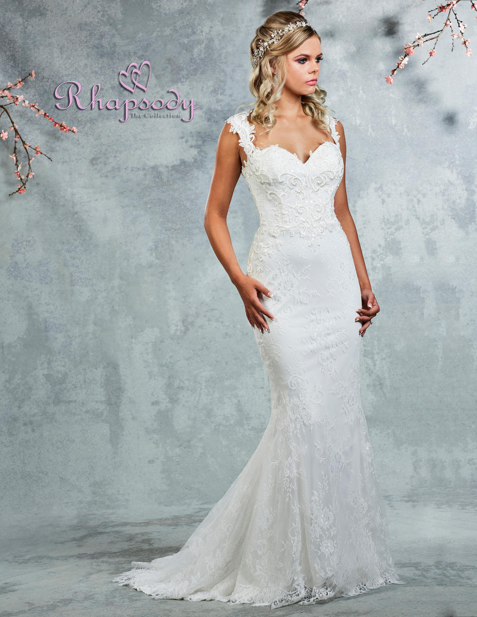 Symphony Bridal - Sweetheart Sheath Lace Bridal Gown
