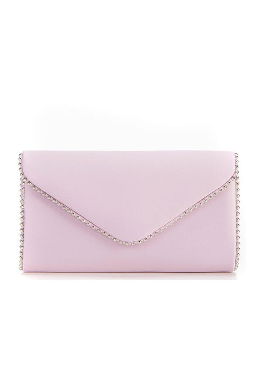 THE SILVERSTEIN  CO.  / ADRIANA PAPELL - Satin Envelope Clutch
