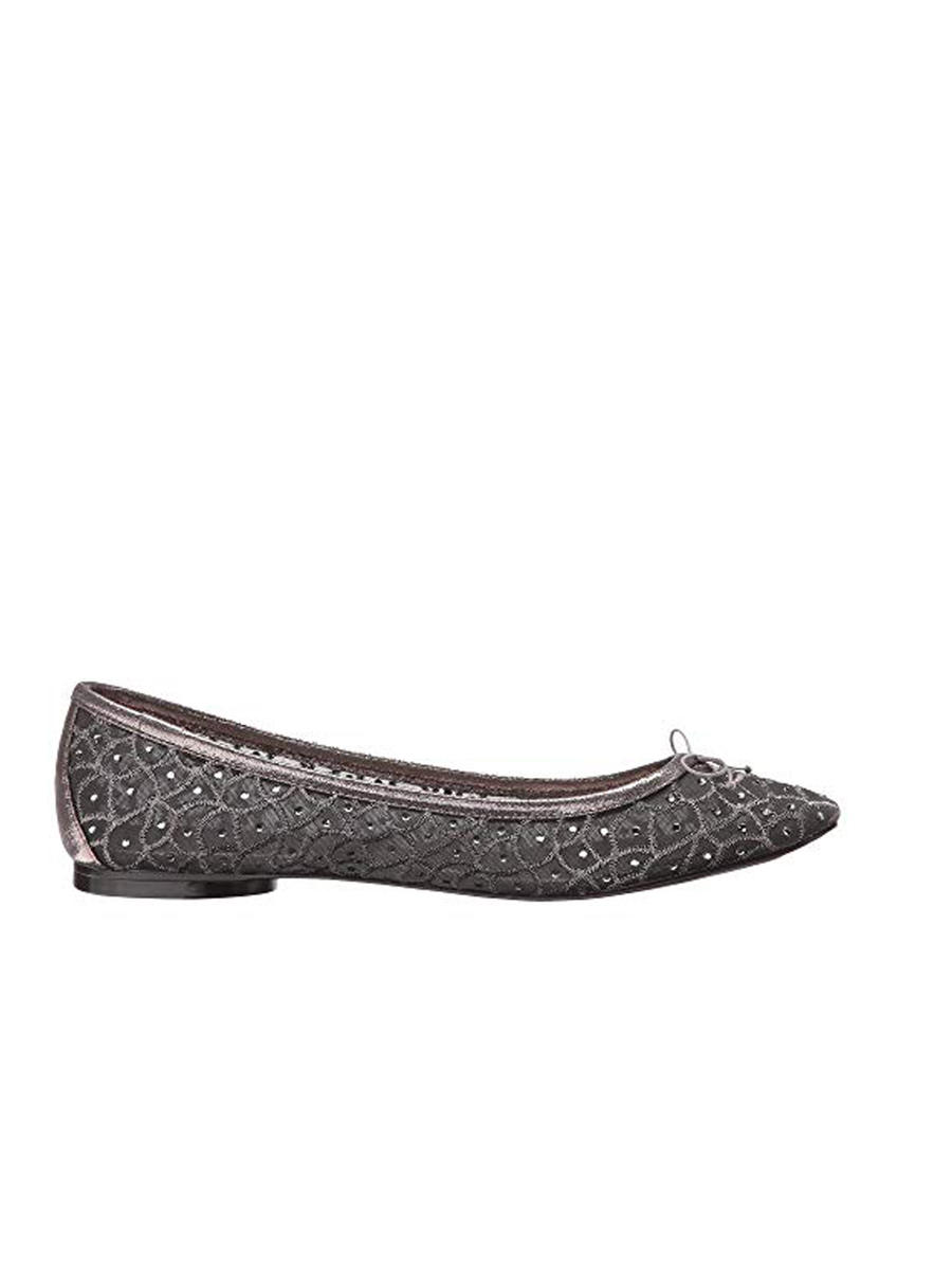 THE SILVERSTEIN  CO.  / ADRIANA PAPELL - Jewel Encrusted Mesh Flat