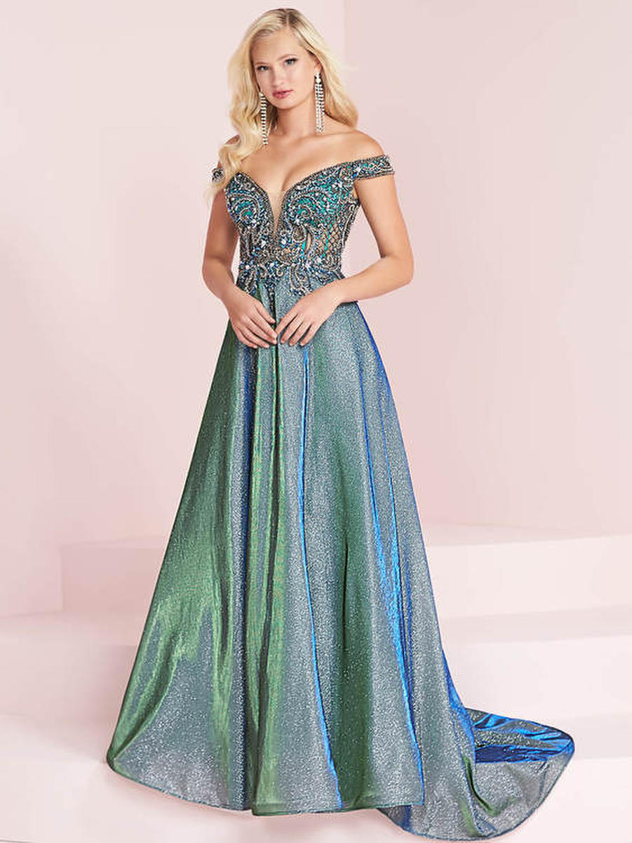 TIFFANY DESIGNS(HOUSE OF WU) - Metallic Gown