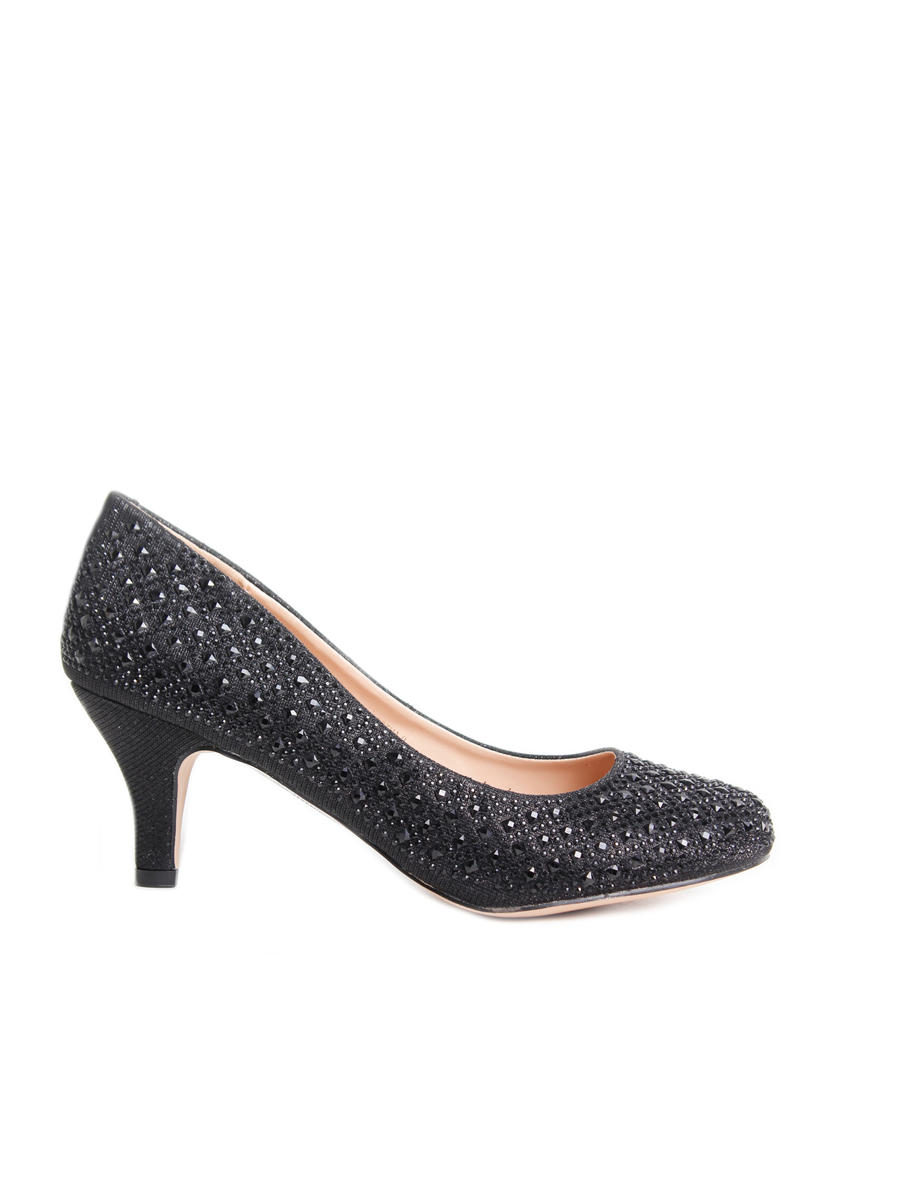 BLOSSOM FOOTWEAR, INC - Embellished Low-Heel Pump