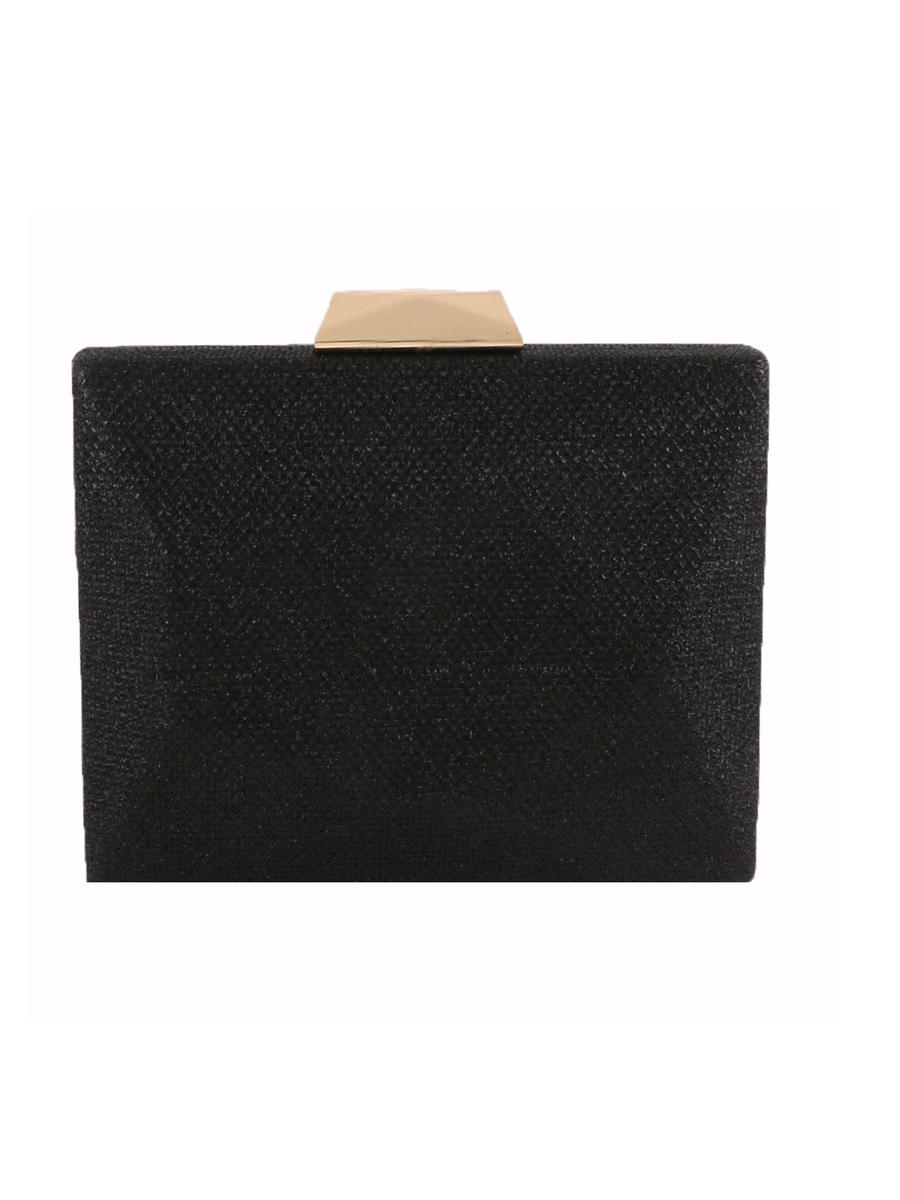 UR ETERNITY BAGS - Glitter Hard Frame Evening Bag