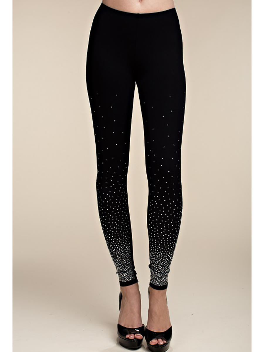 Vocal Apparel - Jersey Rhinestone Leggings