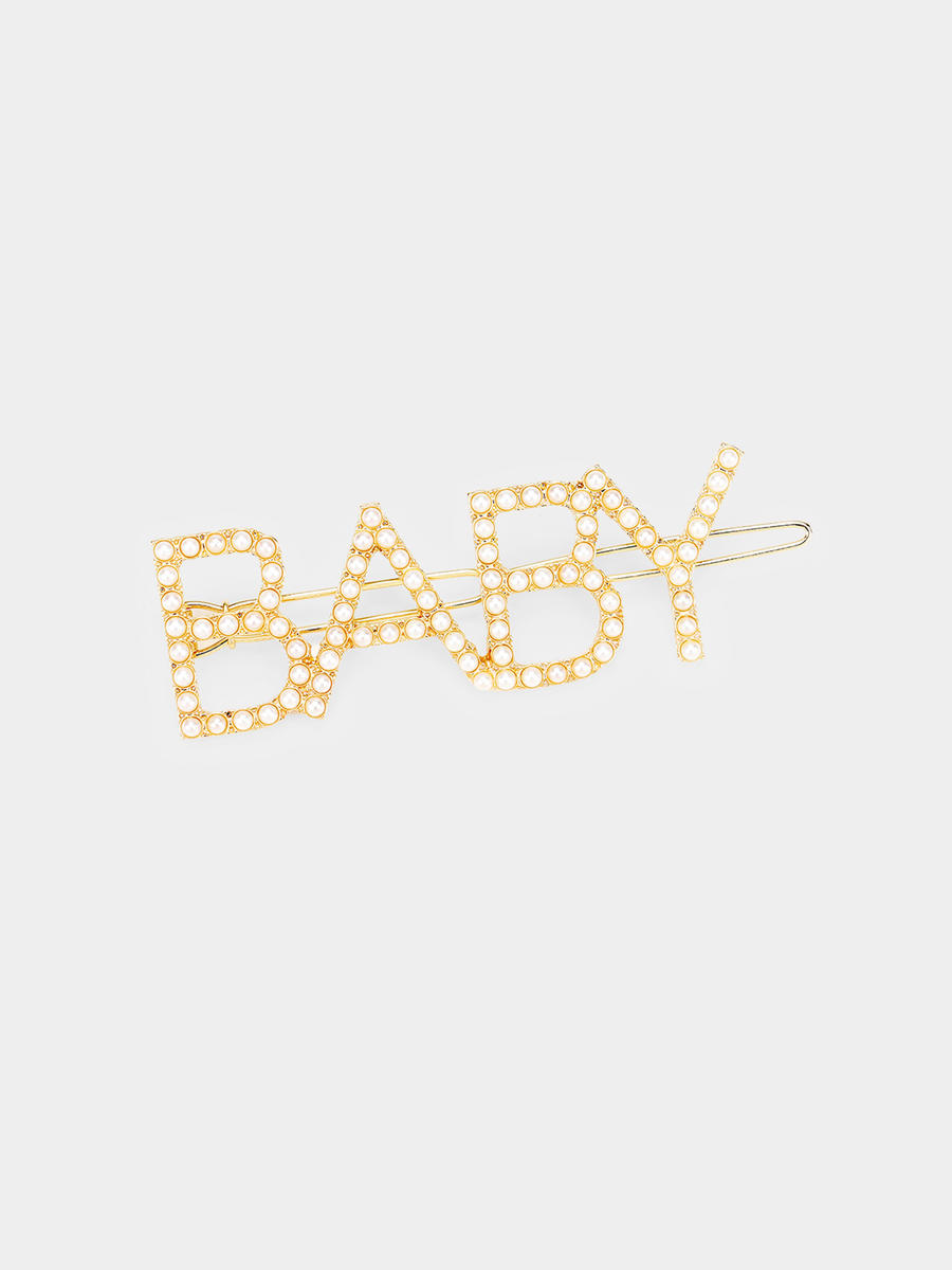 WONA TRADING INC - 'BABY' Crystal Pave Barrette