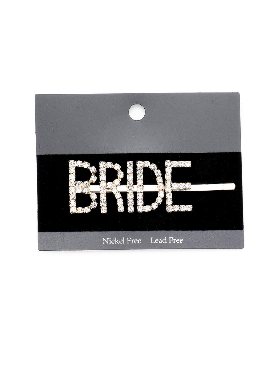 WONA TRADING INC - Rhinestone Bride Hair Pin