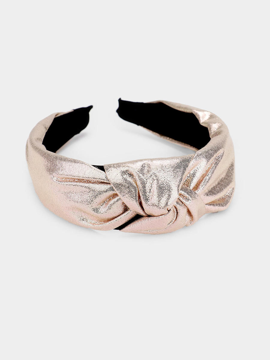 WONA TRADING INC - Metallic Knotted Headband