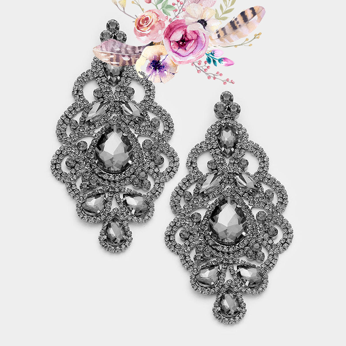 Large Marquise Earrings