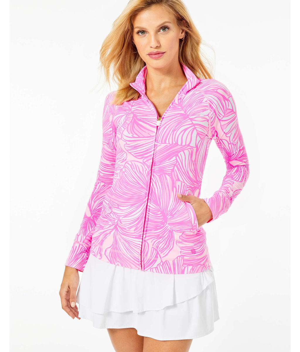 Lilly Pulitzer-Hadlee Zip Up