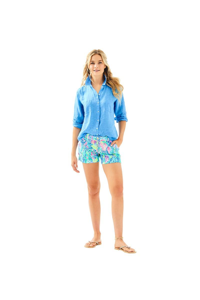 Lilly Pulitzer-Sea View Button Down