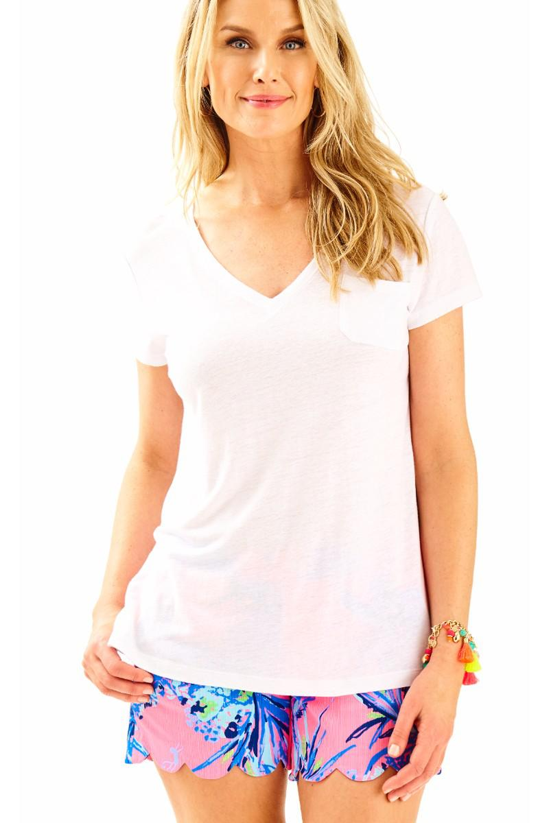 Lilly Pulitzer-Meredith Short Sleeve Tee Shirt
