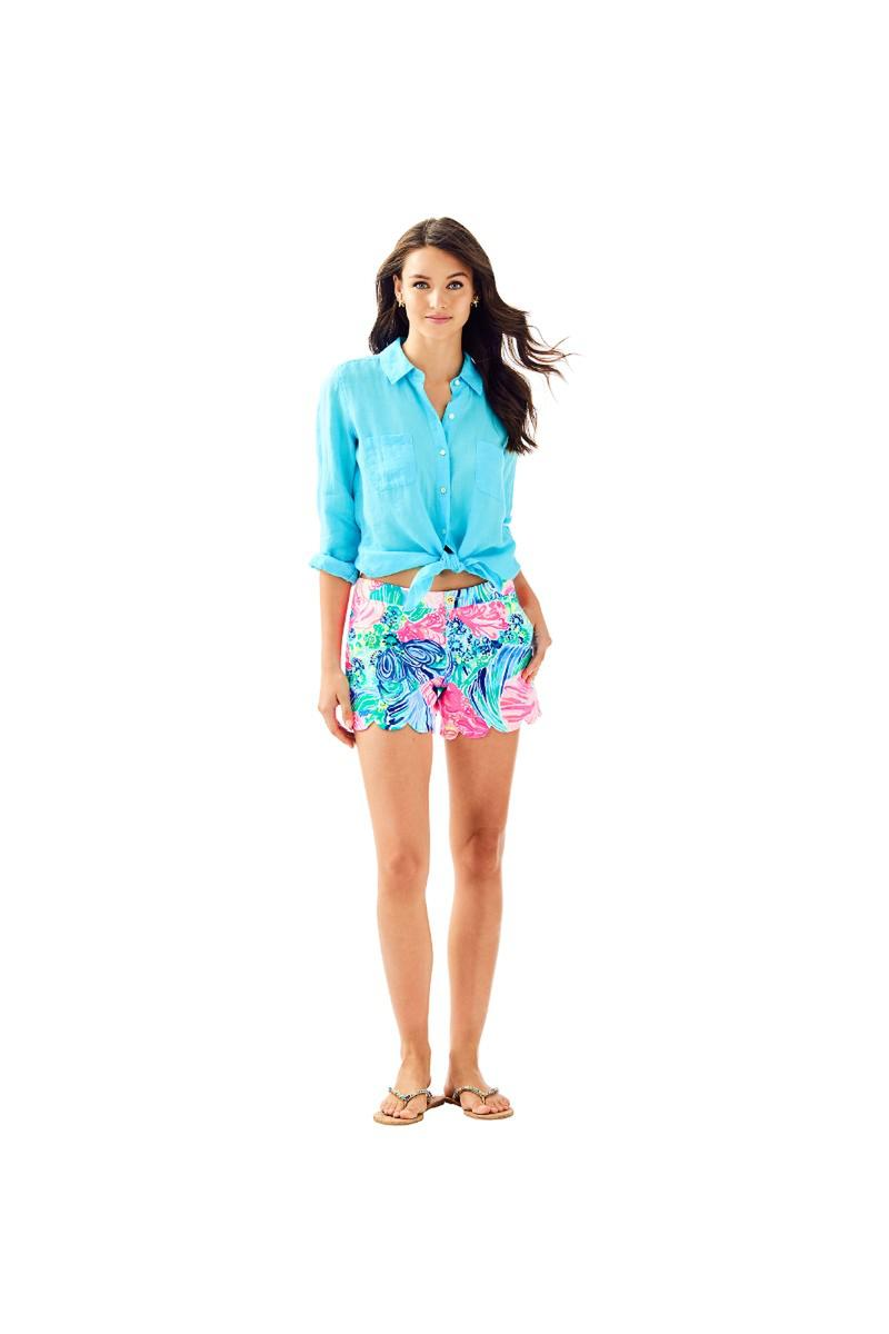 Lilly Pulitzer-Butter Cup Shorts