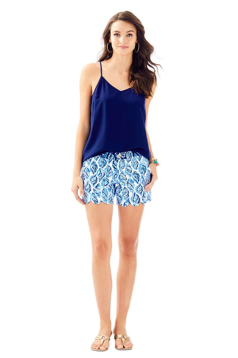 Lilly Pulitzer-BUTTERCUP STRETCH SHORT